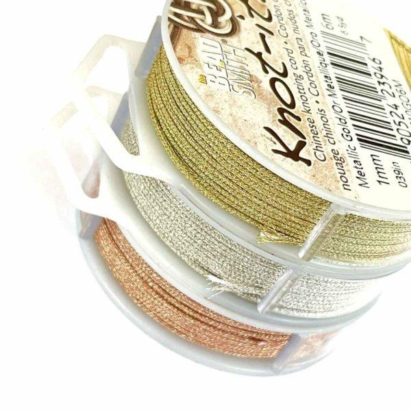 Cordón para nudos chinos - 1mm