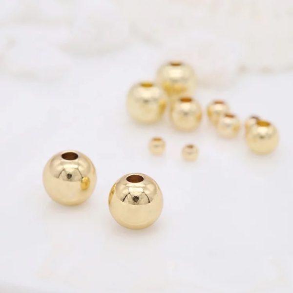 Balines de Goldfilled 14k