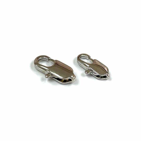 Broche pico de loro - Silver