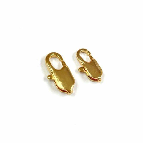 Broche pico de loro - Gold