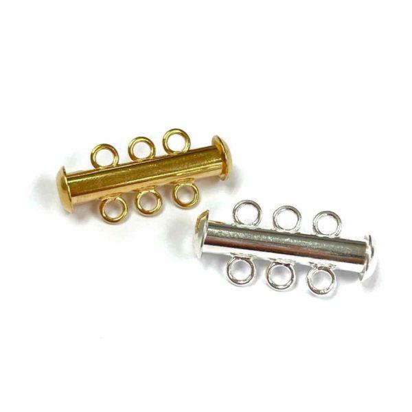 Broche magnético de 3 anillos